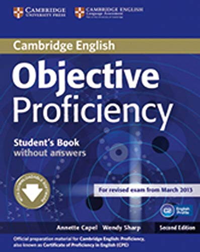 9783125401419: Objective Proficiency. Student's Book without answers