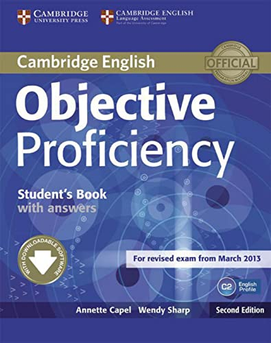 Objective Proficiency. Self-study Student's Book with answers: Capel, Annette