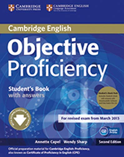 9783125401471: Objective Proficiency. Student's Book Pack (Student's Book with answers with Class Audio CDs (3))
