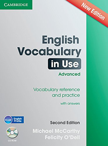 9783125401488: English Vocabulary in Use. Second edition. Advanced - Edition with CD-ROM