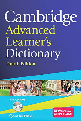 9783125401549: Cambridge Advanced Learner's Dictionary Fourth edition. Book with CD-ROM