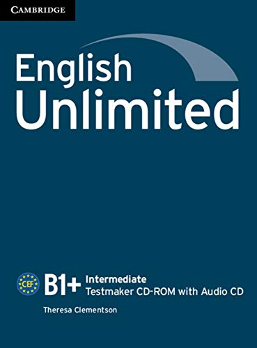 9783125401853: English Unlimited B1+ - Intermediate. Testmaker CD-ROM + Audio-CD [import allemand]