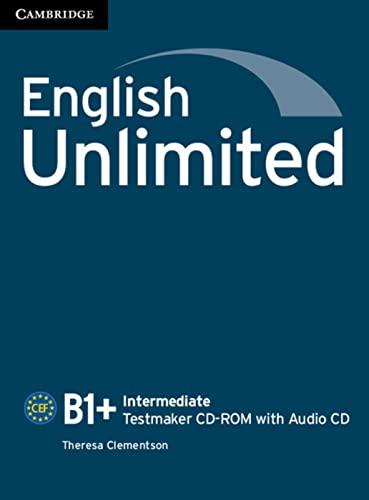 9783125401853: English Unlimited B1+ - Intermediate. Testmaker CD-ROM + Audio-CD