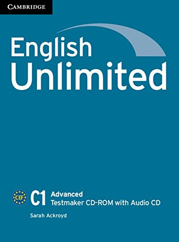 9783125401877: English Unlimited C1 - Advanced. Testmaker [import allemand]