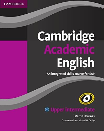 9783125402843: Cambridge Academic English. Student's Book - Upper-Intermediate