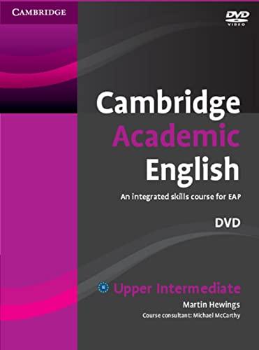 9783125402867: Cambridge Academic English. DVD - Upper-Intermediate