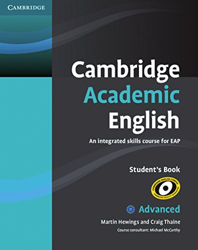 9783125402881: Cambridge Academic English. Advanced. Student's Book C1