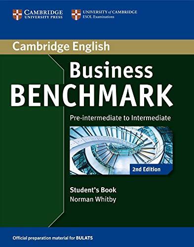 9783125403147: Business Benchmark 2nd Edition. Student's Book BULATS Pre-intermediate/Intermediate B1