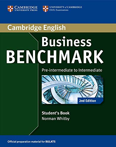 9783125403147: Business Benchmark 2nd Edition. Student's Book BULATS Pre-intermediate/Intermediate B1