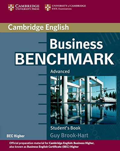9783125403222: Business Benchmark 2nd Edition. Student's Book BEC Higher Edition: Internationale Ausgabe