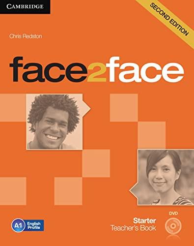 9783125403314: face2face. Teacher's Book with DVD. Starter - Second Edition
