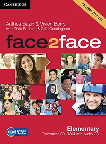 9783125403420: face2face Testmaker CD-ROM and Audio-CD. Elementary 2nd edition [import allemand]