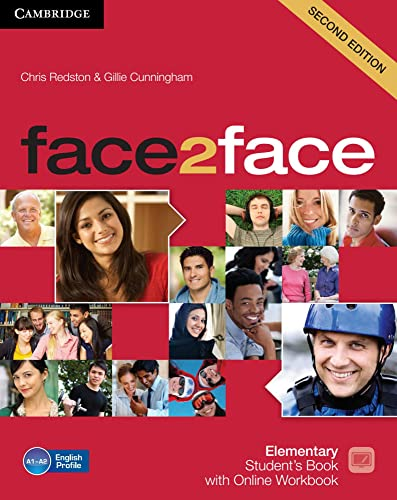 9783125403468: face2face. Student's Book with DVD-ROM and Online Workbook Pack. Elementary 2nd edition