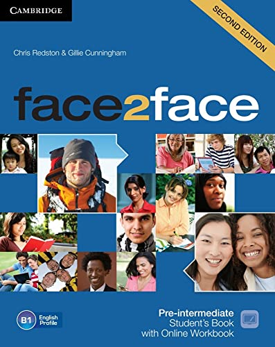 9783125403475: face2face. Student's Book with DVD-ROM and Online Workbook Pack. Pre-Intermediate 2nd edition