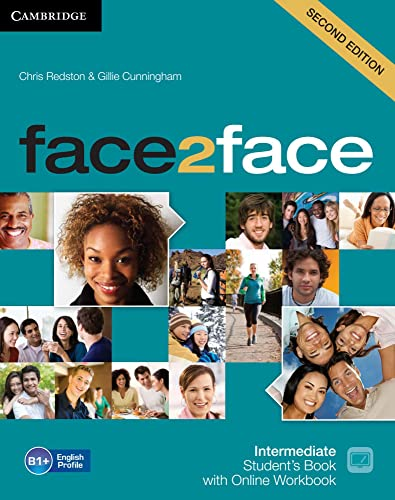 9783125403482: face2face. Student's Book with DVD-ROM and Online Workbook Pack. Intermediate 2nd edition