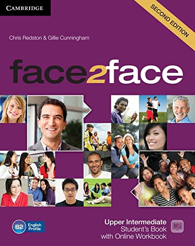 9783125403499: face2face. Student's Book with DVD-ROM and Online. Upper-intermediate 2nd edition