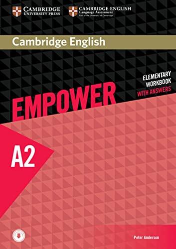 9783125403727: Cambridge English Empower. Workbook + downloadable Audio (A2)