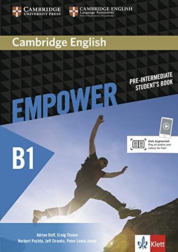 9783125403789: Cambridge English Empower Pre-Intermediate Student's Book Klett Edition
