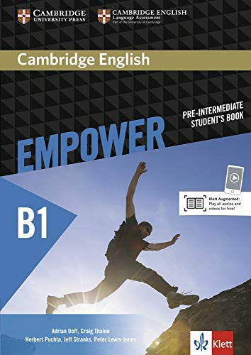 9783125403789: Cambridge English Empower Pre-Intermediate Student's Book Klett Edition