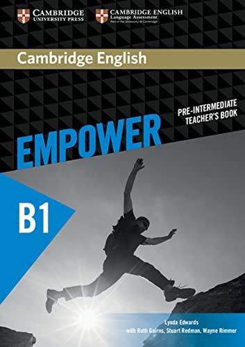 9783125403802: Cambridge English Empower. Teachers's Book (B1): Für Erwachsenenbildung/Hochschulen