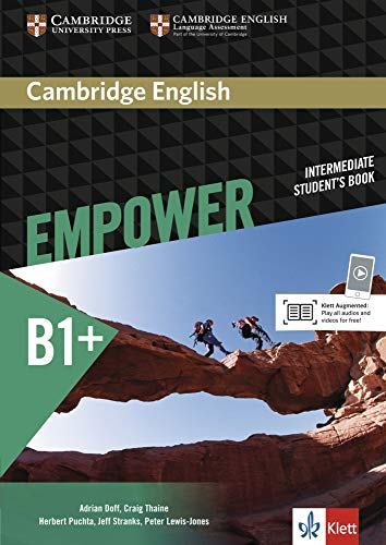 9783125403857: Cambridge English Empower Intermediate Student's Book Klett Edition