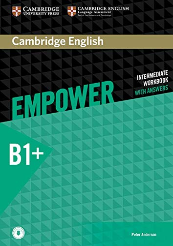 9783125403864: Cambridge English Empower. Workbook + downloadable Audio (B1+)
