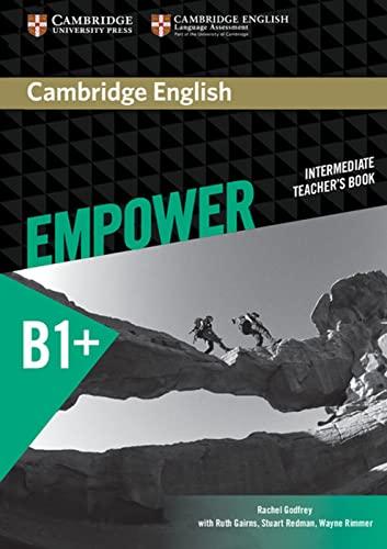 9783125403871: Cambridge English Empower. Teachers's Book (B1+)