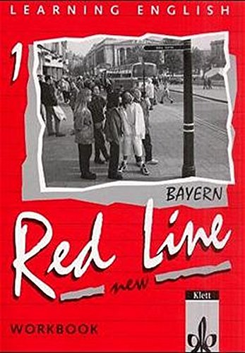 9783125460157: Learning English, Red Line New, Ausgabe für Bayern, Workbook