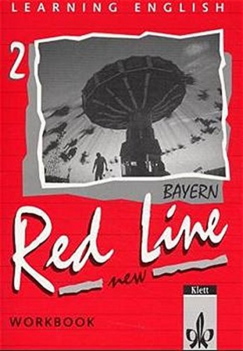 9783125460256: Learning English, Red Line New, Ausgabe für Bayern, Workbook