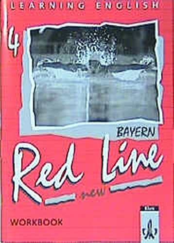 9783125460454: Learning English, Red Line New, Ausgabe für Bayern, Workbook