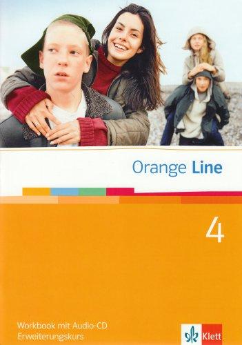 9783125460485: Orange Line 4. Erweiterungskurs Klasse 8. Workbook mit Audio-CD