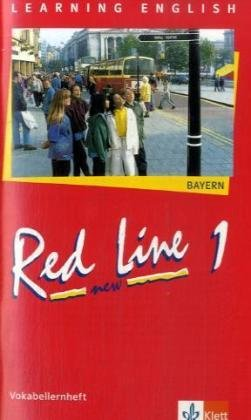 9783125461116: Red Line New 1.Vokabellernheft. Bayern: Klasse 5. Lehrwerk für die 6-stufige Realschule