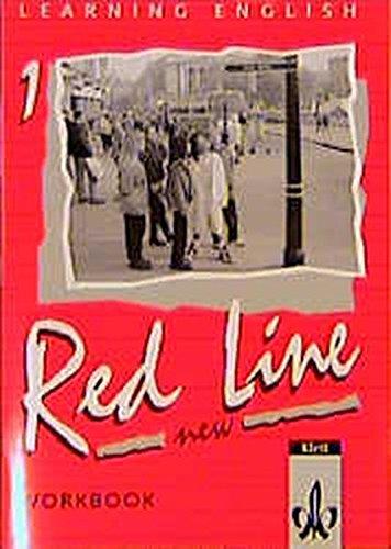 9783125464155: Learning English. Red Line 1. New. Workbook: Für Klasse 5 an Realschulen