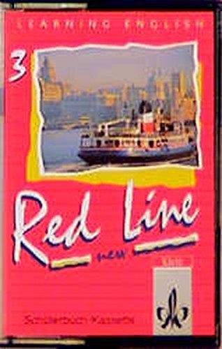 9783125464384: Learning English, Red Line New, Ausgabe für Baden-Württemberg, Schleswig-Holstein, Mecklenburg-Vorpommern, Sachsen-Anhal, 1 Cassette zum Schülerbuch