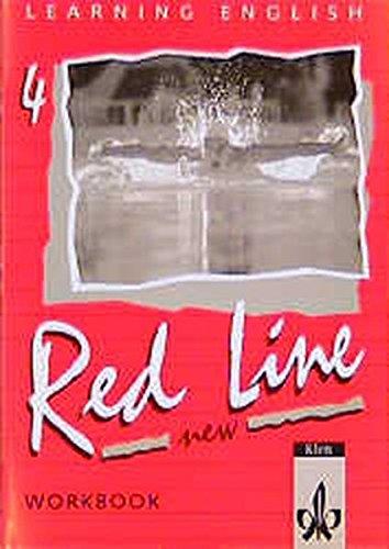 9783125464452: Red Line New 4. Workbook: Für Klasse 8 an Realschulen