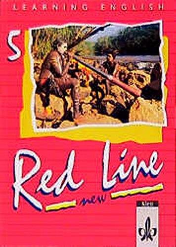 9783125464506: Learning English, Red Line New, Ausgabe für Baden-Württemberg, Schleswig-Holstein, Mecklenburg-Vorpommern, Sachsen-Anhal, Tl.5, Schülerbuch, Klasse 9