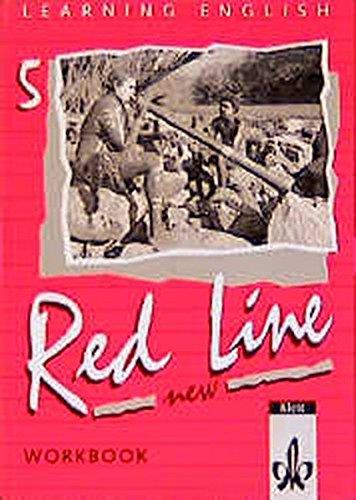 9783125464551: Red Line New 5. Workbook: Für Klasse 9 an Realschulen