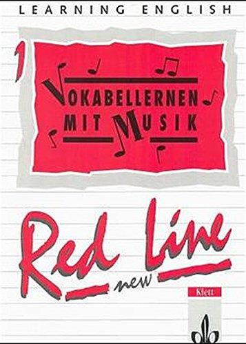 9783125466005: Learning English, Red Line New, Ausgabe für Baden-Württemberg, Schleswig-Holstein, Mecklenburg-Vorpommern, Sachsen-Anhal, Vokabellernen mit Musik