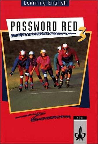 9783125466302: Learning English. Password Red 3. Sch�lerbuch: F�r Klasse 7 an Realschulen