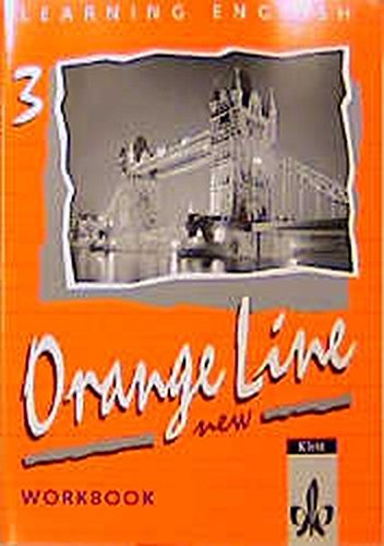 9783125468351: Learning English. Orange Line 3. New. Grundkurs. Workbook.