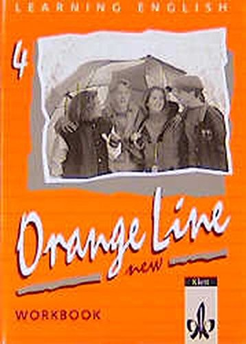 9783125468399: Learning English. Orange Line 4. New. Grundkurs. Workbook.