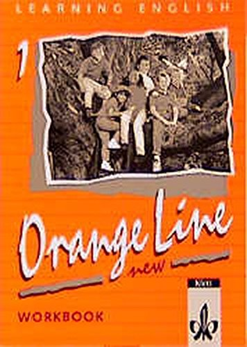 9783125468443: Learning English. Orange Line 1. New Workbook