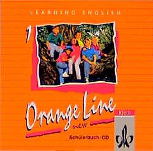 9783125468818: Learning English, Orange Line New Tl 1. 1 Audio-CD zum Schülerbuch.