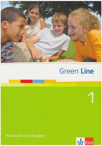 9783125471269: Green Line, Neue Ausgabe für Gymnasien, Bd.1 : Workbook mit Lösungen, 5. Schuljahr