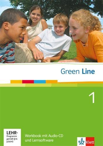 9783125471283: Green Line 1. Workbook mit CD und CD-ROM