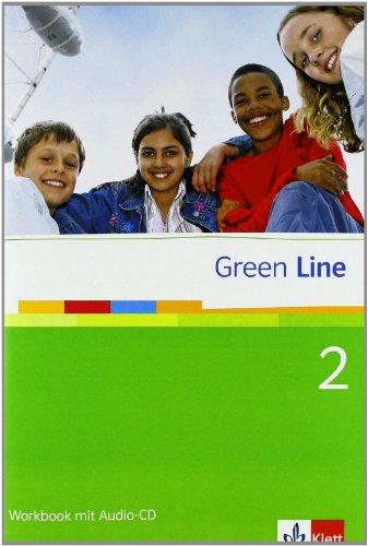 9783125471351: Green Line 2. Workbook mit Audio CD: Gymnasium