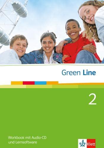 9783125471382: Green Line 2. Workbook mit Audio CD und CD-ROM: 6. Klasse