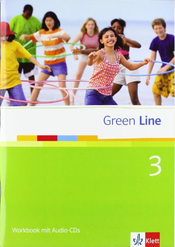 9783125471450: Green Line 3. Workbook mit Audio-CDs. 7. Klasse: BD 3
