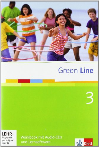 9783125471481: Green Line. Workbook 3. 7. Klasse
