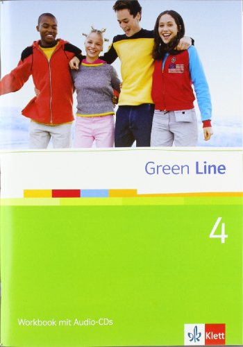 9783125471559: Green Line. Workbook mit Audio-CD 4
